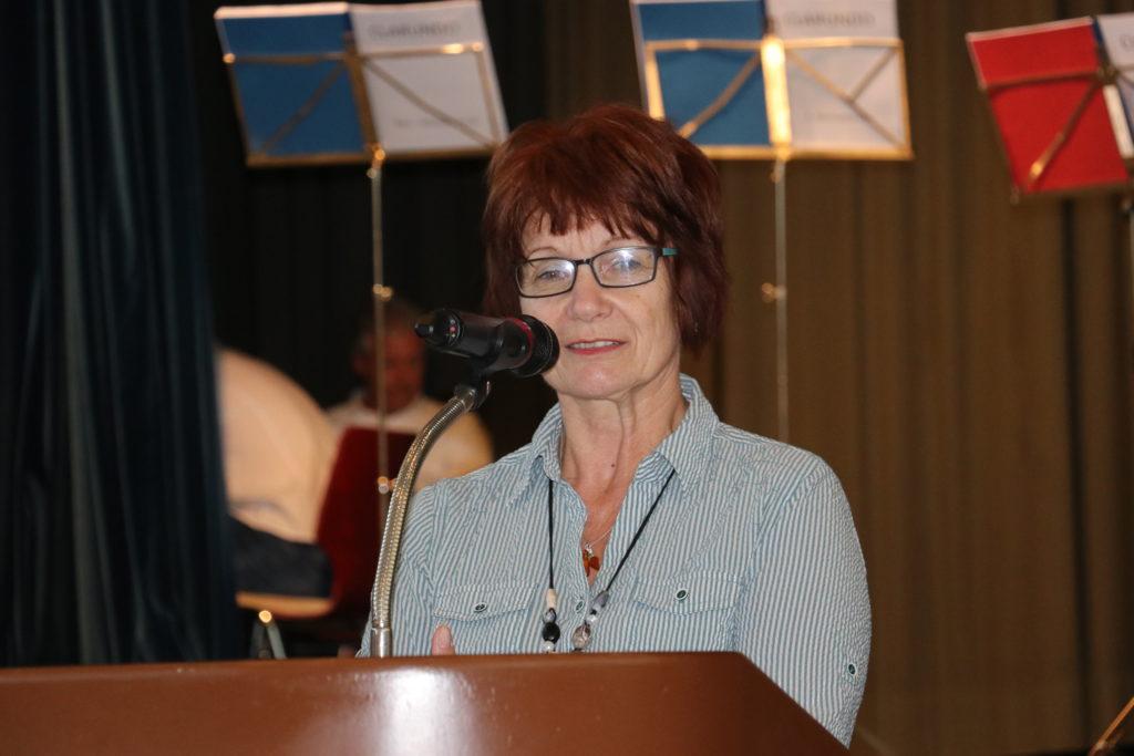 Präsidentin des Deutschen Stenografenbundes Regina Hofmann