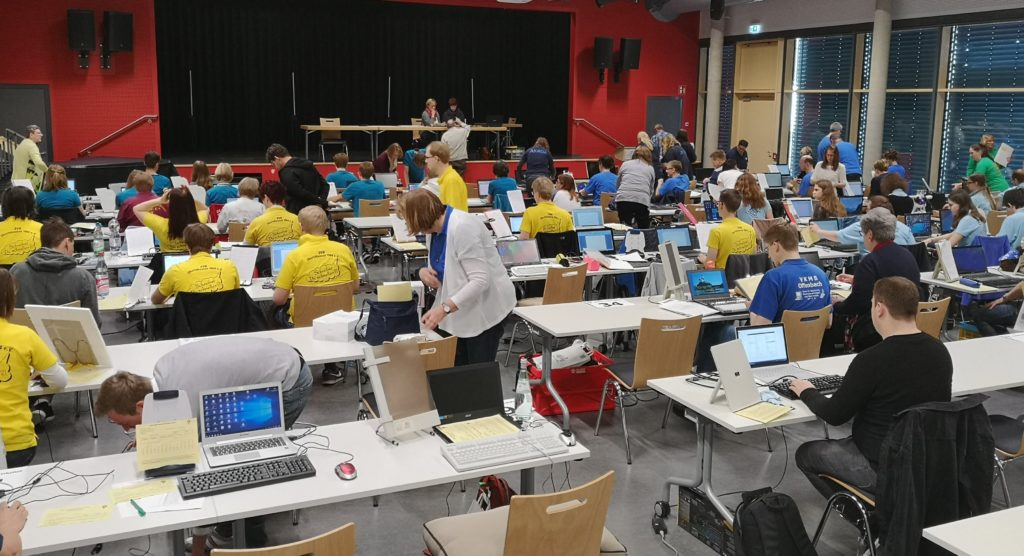 Tastaturwettbewerbe in der Theo-Koch-Schule