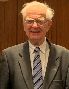 Ehrenpräsident Gregor Keller