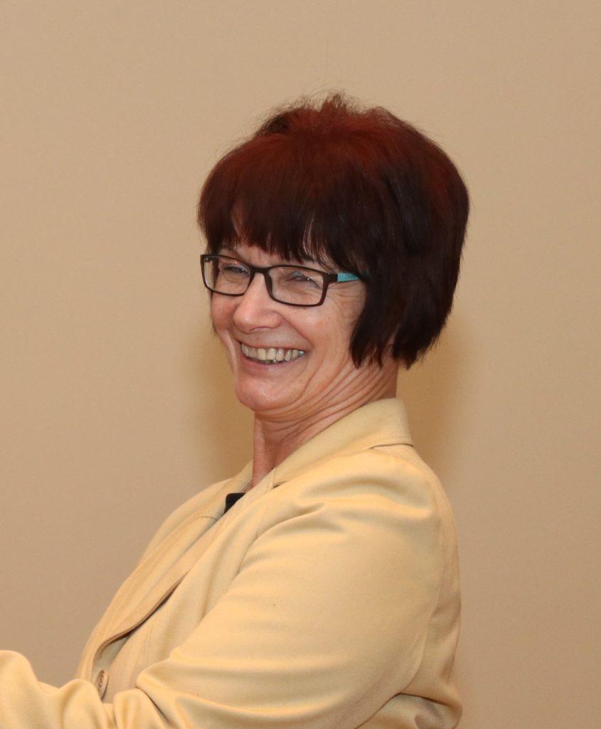 Regina Hofmann, Präsidentin des Deutschen Stenografenbund E. V.